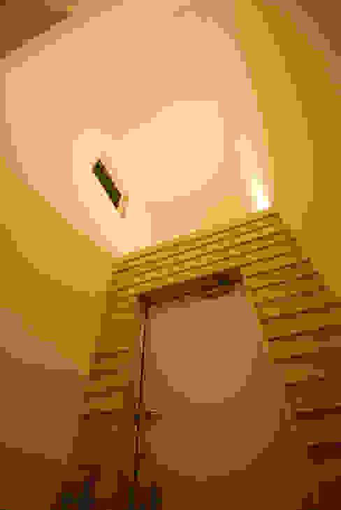 wall × wall モダンスタイルの 玄関&廊下&階段 の Ju Design 建築設計室 モダン 木 木目調