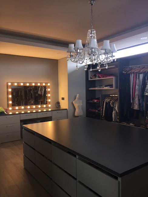 Dressing room by Graftink Interior and Architectural Design Studio ,