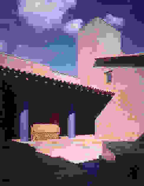 Patio Casas de estilo rural de homify Rural
