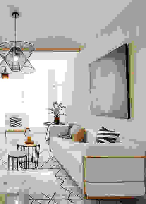 Living area من Markham Stagers حداثي