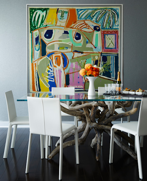Dining Room: modern  by Douglas Design Studio,Modern
