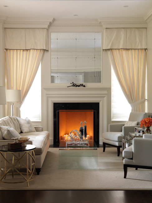 Living Room by Douglas Design Studio Classic