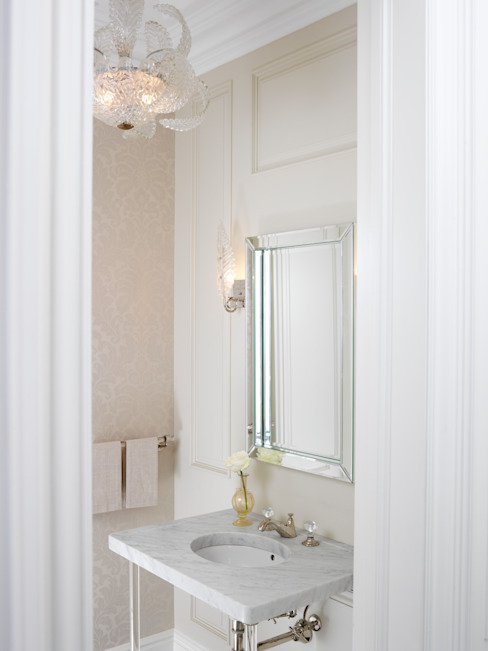 Powder Room Classic style bathroom by Douglas Design Studio Classic