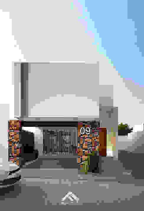 Houses by FERAARQUITECTOS, Minimalist