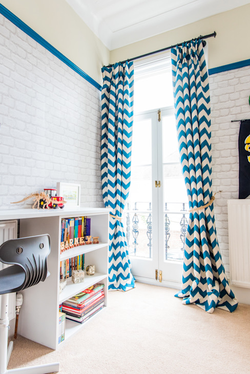 Nursery/kid's room تنفيذ fleur ward interior design,