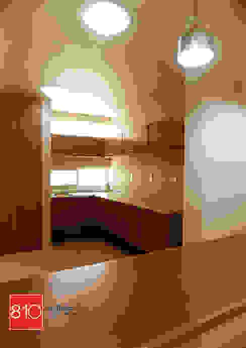 Casa Habitación. de León Martínez Cocinas de estilo moderno de 810 Arquitectos Moderno