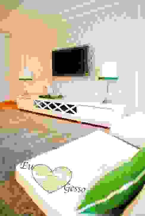 Ruang Keluarga Gaya Eklektik Oleh Intergesso, Lda Eklektik
