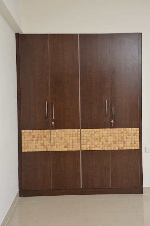Buy Online Wardrobe In India Asian style bedroom by homify Asian Plywood
