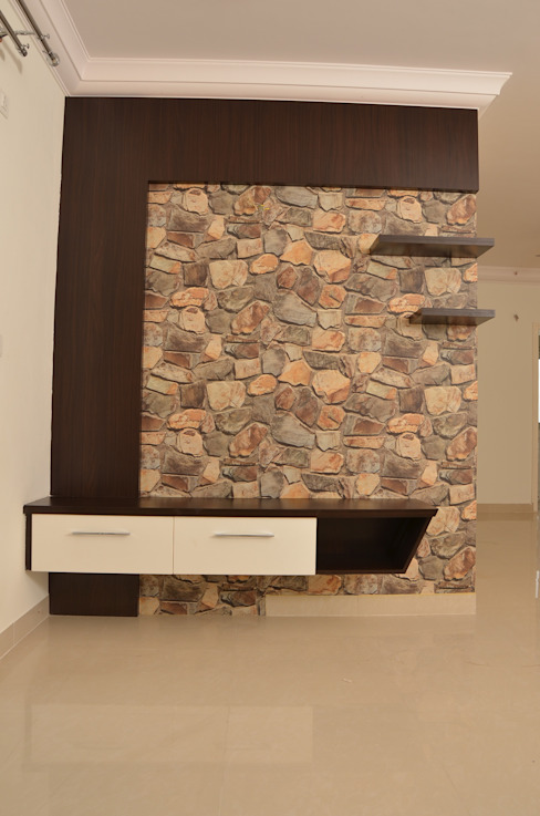 TV Unit Online Asian style living room by homify Asian Plywood
