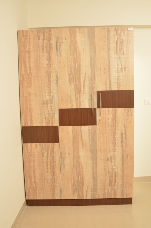 Wardrobe Online India Asian style bedroom by homify Asian Plywood