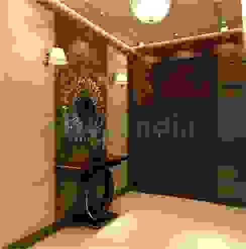 Interiors Modern corridor, hallway & stairs by Space Design Group Modern