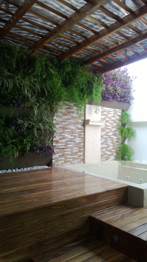 Jardines de estilo tropical de homify Tropical