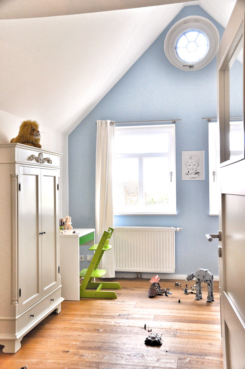 Country style nursery/kids room by homify Country