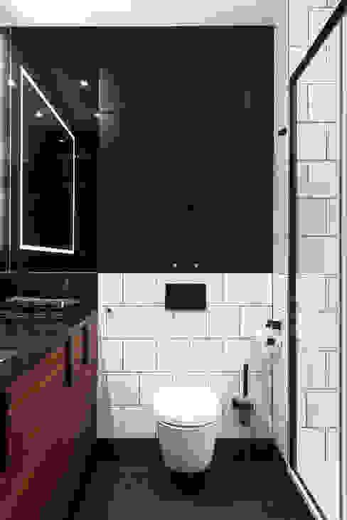 Łazienka: styl , w kategorii Łazienka zaprojektowany przez JT GRUPA