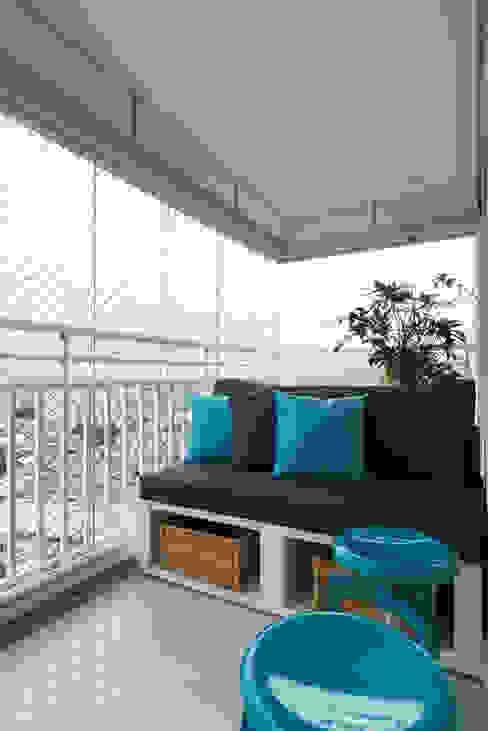 Danyela Corrêa Arquitetura Modern Terrace