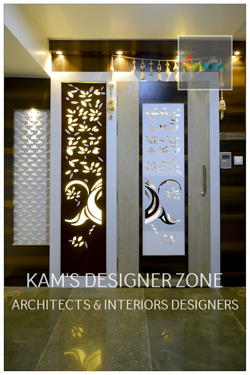 Door Design Classic style houses by KAM'S DESIGNER ZONE Classic