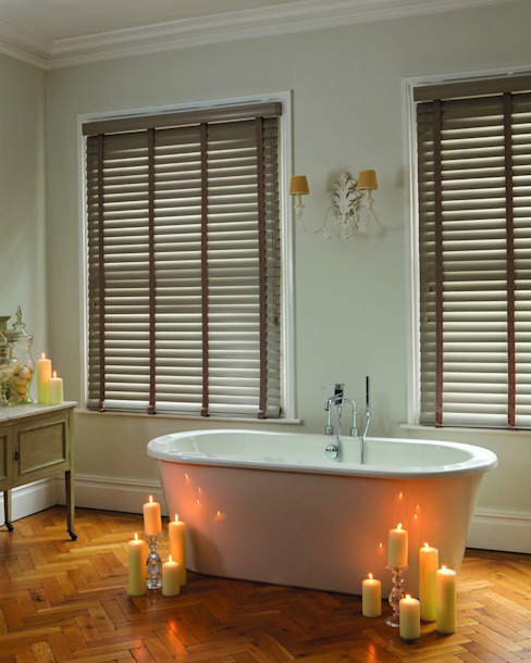 modern  by English Blinds, Modern لکڑی Wood effect