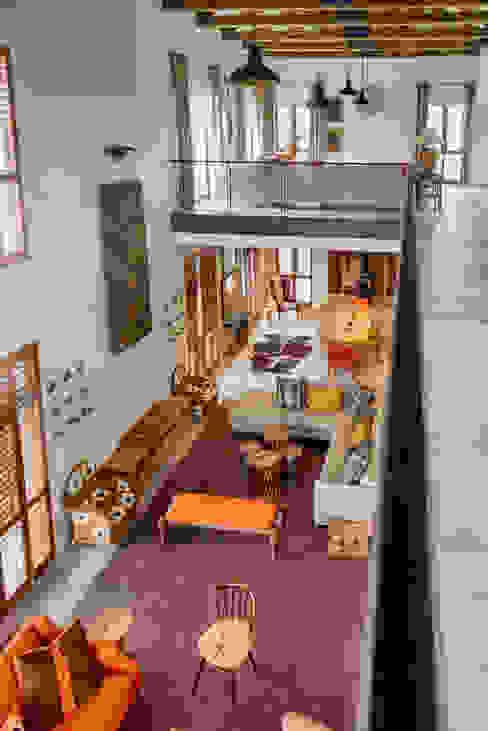 Living room by Gelding Construction Company  (PTY) Ltd, Modern