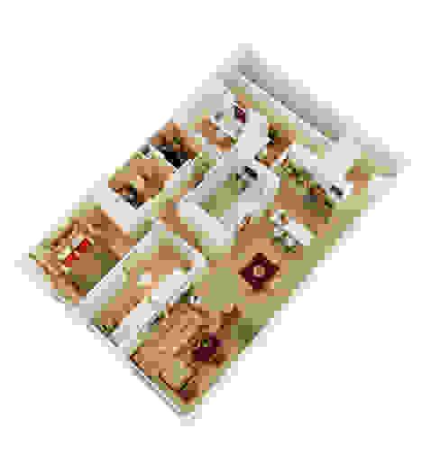Salas / recibidores de estilo  por GokoStudio, Moderno