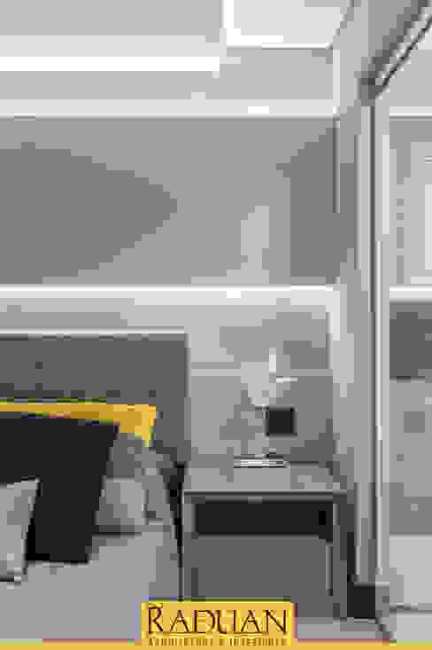 Quarto de Casal Raduan Arquitetura e Interiores Quartos modernos