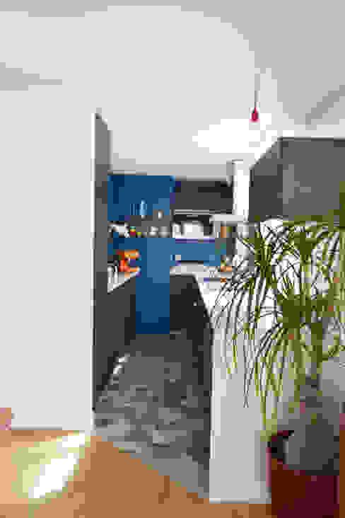 A comme Archi Cocinas modernas Azul