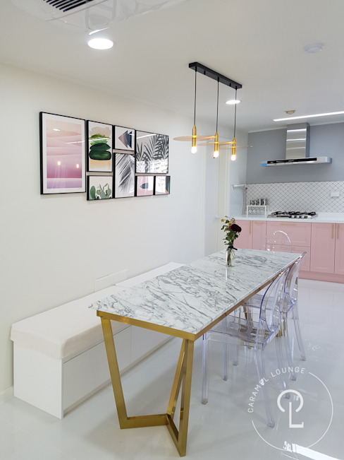 Modern kitchen by 캐러멜라운지 Modern
