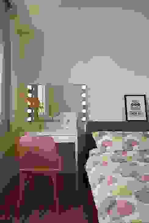스칸디나비아 침실 by 釩星空間設計 북유럽
