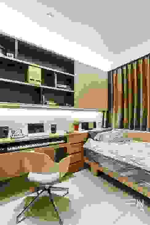 釩星空間設計 Scandinavian style bedroom