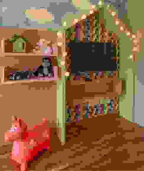 Детские комнаты в . Автор – Del Nero Da Fonte Arquitetura,