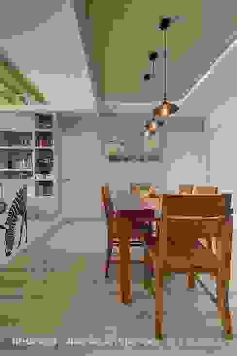 餐廳 根據 Hi+Design/Interior.Architecture. 寰邑空間設計 現代風