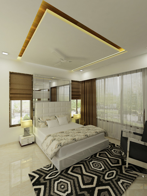 Master BEdroom by A Design Studio Minimalist