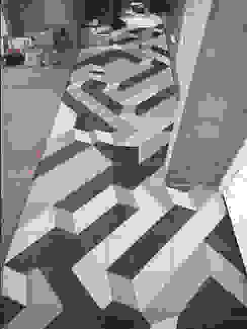 design com ladrilho hidráulico Paredes e pisos modernos por NATALIA BARTOLOMEO ARQUITETURA | DESIGN STUDIO Moderno
