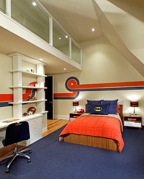 Boys Bedroom by Douglas Design Studio Modern