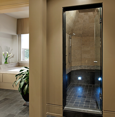 Master Ensuite Shower Modern bathroom by Douglas Design Studio Modern