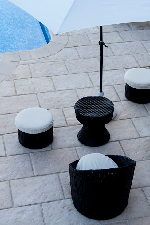 Pool pavement by Fabistone Mediterranean