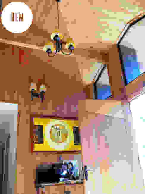 Casas de estilo  por REW. Arquitectura & Diseño, Rústico Piedra
