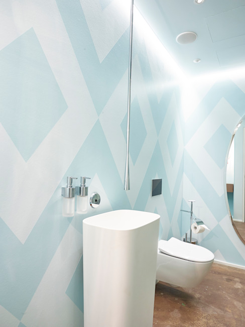 Studio Gästebad Bulling - Die Badspezialisten Skandinavische Badezimmer
