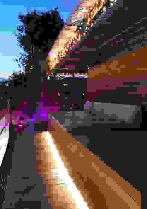 Terraza Hotel Ayre Rosellon Barcelona OutSide Tech Light Hoteles de estilo minimalista
