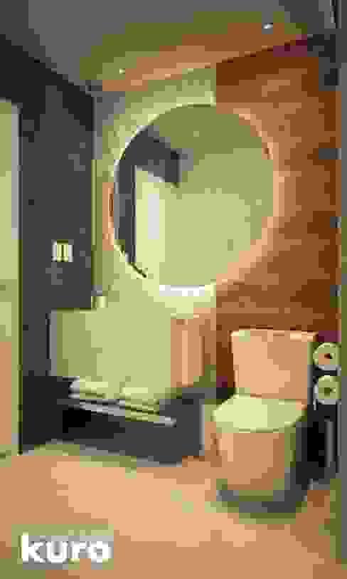 Baños de estilo  por Kuro Design Studio,