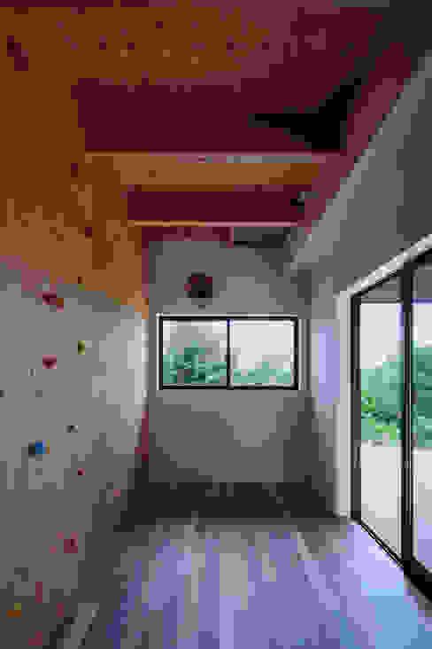 モンガタノイエ 一級建築士事務所シンクスタジオ オリジナルデザインの ホームジム