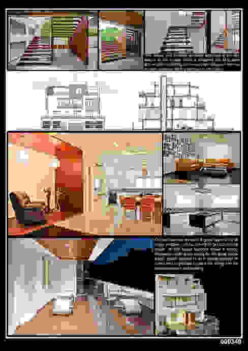 Residential Modern houses by J9 Associates Modern Wood Wood effect