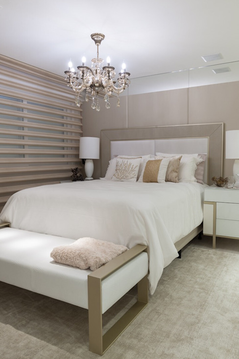 Dormitorios de estilo clásico de Leticia Athayde Arquitetura Clásico