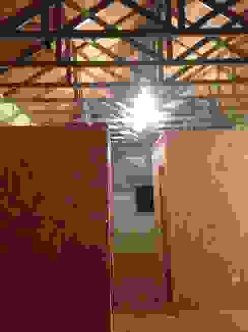 Vivienda Prefabricada 48 m2 Casas de estilo industrial de Estudioeco21 Industrial