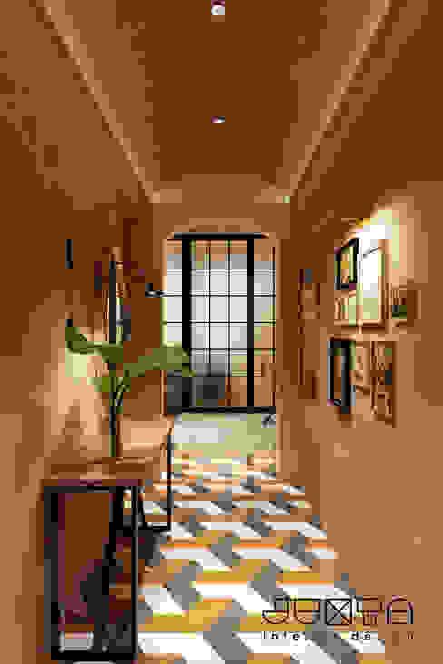 Hallway Klinik Gaya Industrial Oleh Juxta Interior Industrial