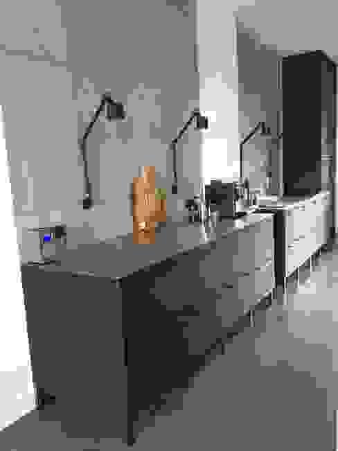 Betonnen keuken achterwand panelen 2 van ConcreetDesign BV Minimalistisch Beton