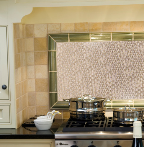 Kitchen by Elalux Tile, Classic Marble