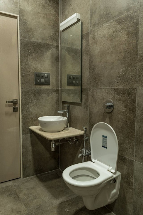 Rishi Villa - Pune Aesthetica Modern bathroom