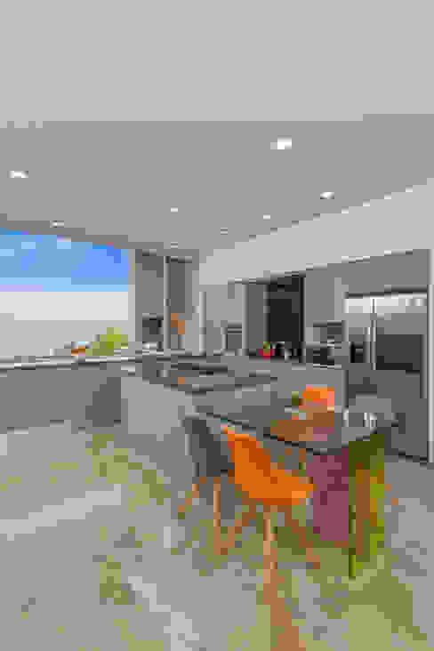 Cocina Armony - Proyecto terminado Atelier Casa ATELIER CASA S.A.S Cocinas modernas