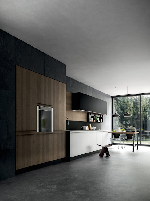 COCINA YOTA - ATELIER CASA - ARMONY CUCINE Cocinas modernas de ATELIER CASA S.A.S Moderno
