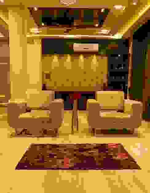 Singh Bunglow - Kalyan Modern living room by Aesthetica Modern